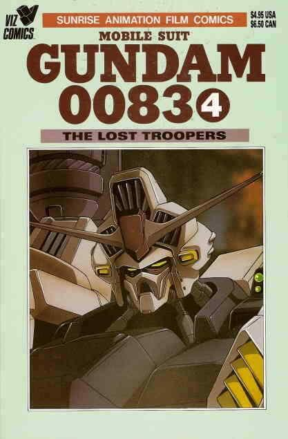 Mobile Suit Gundam 0083 #4 VF/NM; Viz | save on shipping - details inside