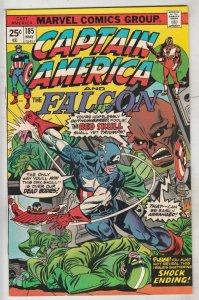Captain America #185 (May-75) VF/NM High-Grade Captain America