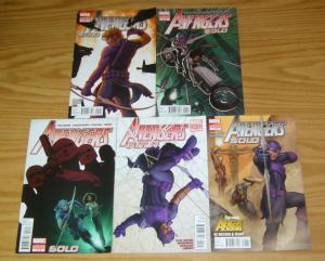 Avengers: Solo #1-5 VF/NM complete series - hawekey - avengers academy 2 3 4 set
