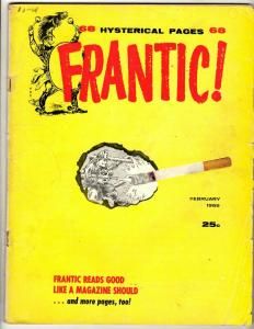 Frantic! Pierce TPB Graphic Novel Comic Book Comedy Humor Funny J342