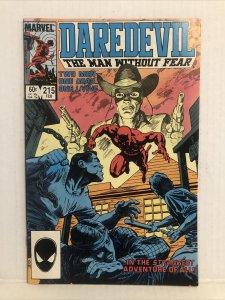 Daredevil #215
