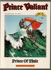 Prince Valiant #8 1990-Fantagraphics-color reprint-Hal Foster-Prince of Thule-VF