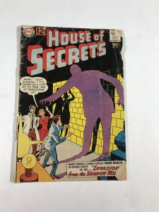 House Of Secrets 57 2.0 Gd Good Dc Silver Age