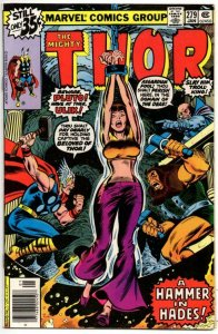 THOR #279 VF/NM God of Thunder Hammer in Hades 1966 1979, more Thor in store