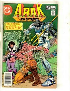 12 Arak Son of Thunder DC Comics # 7 8 9 12 13 14 16 17 18 19 21 22 WS12