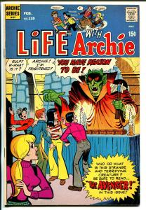 Life With Archie #118 1972-horror-The Avenger-Betty-Veronica-VF-