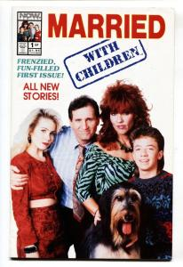 Married With Children #1 NOW comic book-1990-First issue