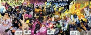 SECRET INVASION  X MEN (2008) 1-4   COMPLETE! COMICS BOOK