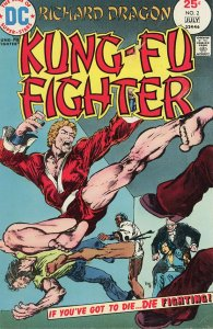 Richard Dragon, Kung Fu Fighter #2 (1975)  F/VF  Jim Starlin Art!