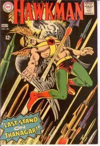 HAWKMAN 26 VG-F  July 1968 COMICS BOOK