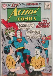 Action Comics #255 (Aug-59) VG+ Affordable-Grade Superman