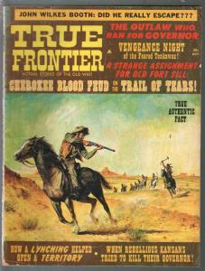 True Frontier #2 10/1967-Candar-John Wilkes Booth-Al Jennings-Tom Horn-VG