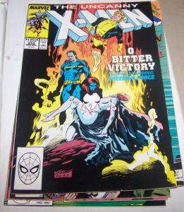 Uncanny X-Men #255 banshee forge mistique polaris legion* freedom force*