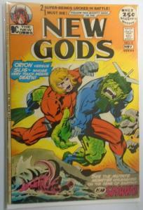 New Gods (1st Series) #5, Jack Kirby Water Damage 2.0 (1971)