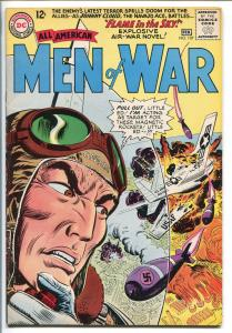 ALL-AMERICAN MEN OF WAR #107-1965-DC-NAVAJO ACE-JOHNNY CLOUD-vf