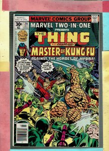 MARVEL TWO IN ONE THE  THING AND THE KUNG FU MASTER 29