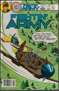 Fightin' Army #143 (Charlton, 1981) NM
