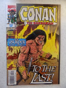 CONAN THE BARBARIAN THE USURPER # 3