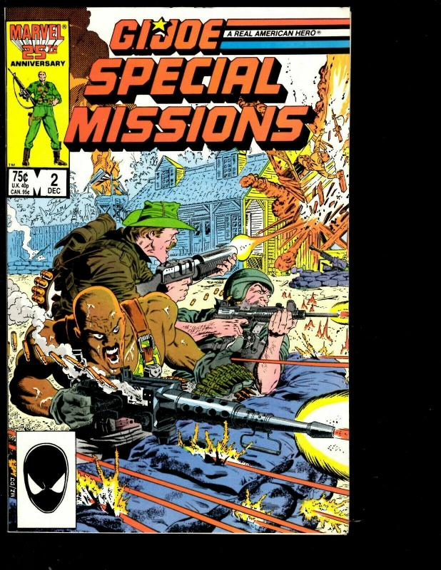 12 G.I. Joe Marvel Comics # 35 36 46 50 54 Yearbook 2 + Special 1 2 3 4 6 7 JF26