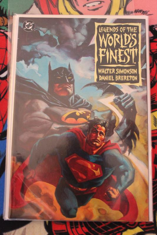 Legends of the Worlds Finest Book One NM/MT