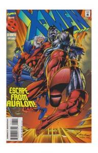 X MEN  # 43  1995 MARVEL   magneto colossus  escape from avalon acolytes