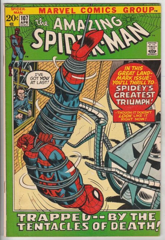 Amazing Spider-Man #107 (Apr-72) NM- High-Grade Spider-Man