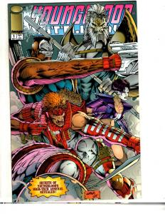 Lot Of 8 Youngblood Image Comic Books # 1 1 2 3 4 5 + Yearbook 1 + X-Force CR31