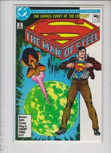 THE MAN OF STEEL MINI SERIES: #'s1-6 DC/ VF+/NM-/ NEVER READ