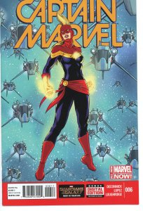 Captain Marvel 6  (2014 series)  9.0 (our highest grade)