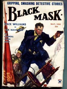 Black Mask May 1934 - Race Williams - Hugh B. Cave - Pulp Magazine