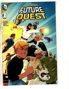 6 Comics Future Quest 1 Art Ops 1 Romancer 6 Hero Girls 1 Wonder Woman 1 1 J316