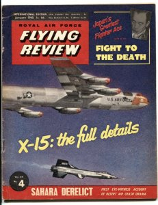 Royal Air Force Flying Review January 1960-  X-15