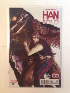 star wars Han Solo 1 Near Mint Liu Brooks Oback Star Wars