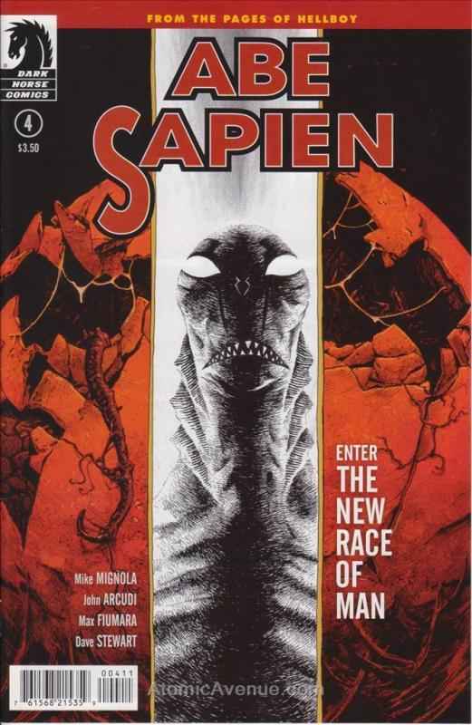 Abe Sapien: Dark and Terrible #4 VF/NM; Dark Horse | save on shipping - details