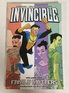 Invincible Volume 1 Family Matters TPB NM Near Mint Image Comics Robert Kirkman