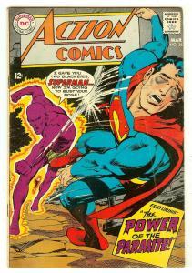 Action Comics 361   2nd Parasite   Neal Adams cover