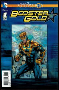 Futures End Booster Gold 3-D Cover (2014, DC) 9.4 NM