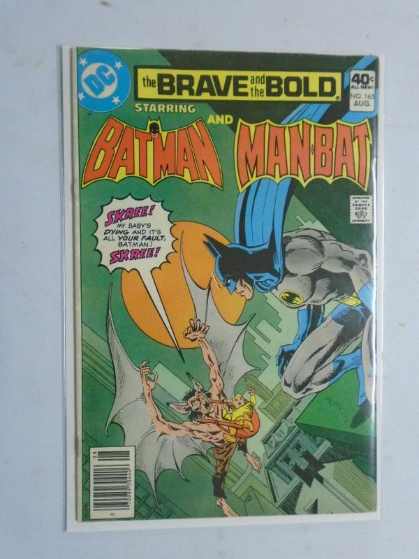 Brave and the Bold (1st Series DC) #165, 6.0 (1980)