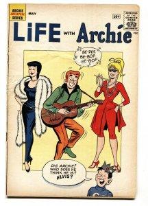 Life With Archie #8 1961-Betty & Veronica-Elvis-Tarzan-Zorro-parody