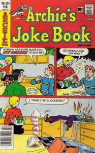 Archie's Jokebook Magazine #229 VG; Archie | low grade comic - save on shipping