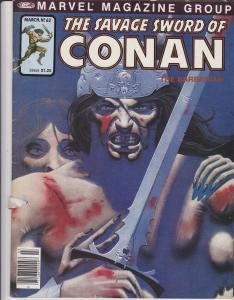 Savage Sword of Conan #62