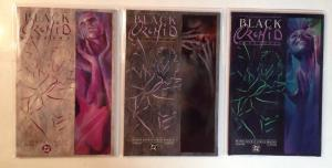 Black Orchid 1-3 Complete Near Mint Lot Set Run Neil Gaiman