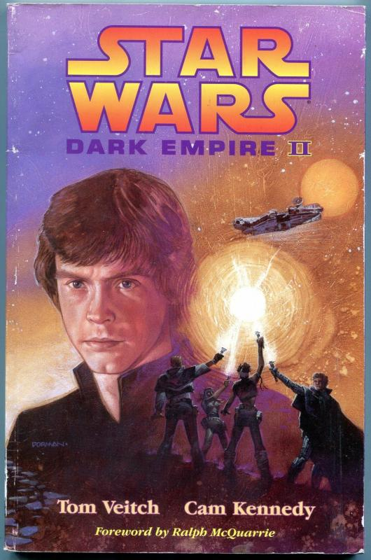 Star Wars: Dark Empire II Trade Paperback TPB 1st print Tim Veitch Cam Kennedy