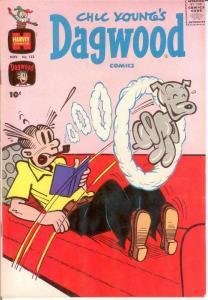 DAGWOOD (1950-1965) 123 VF-NM Nov. 1961 COMICS BOOK