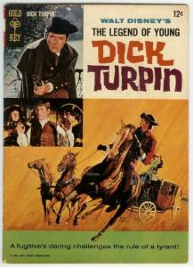 LEGEND OF YOUNG DICK TURPIN (1966 GK) 1 VG- PHOTOCOVER COMICS BOOK