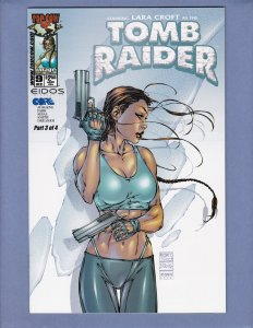Tomb Raider #9 NM Michael Turner Variant Cover Top Cow 2000