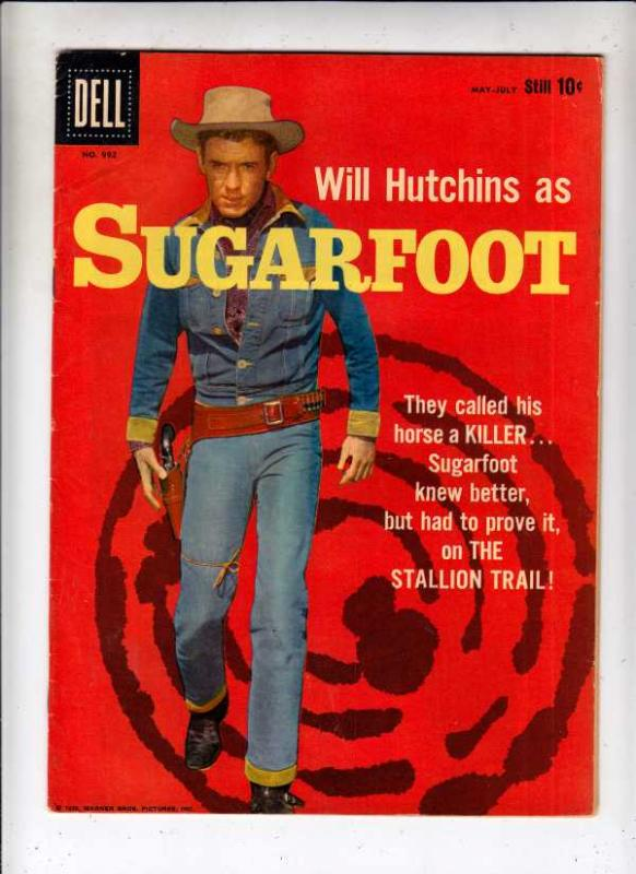 Four Color #992 (May-59) FN/VF Mid-High-Grade Sugarfoot