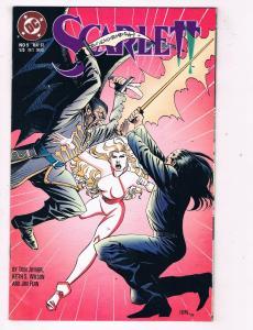 Scarlett (1993) #5 DC Comic Book Blood of Innocence Vampire HH4 AD38