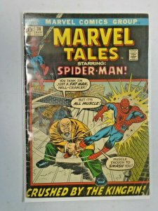 Marvel Tales #36 Spider-Man Crushed by the Kingpin! 3.5 (1972)