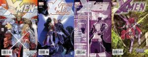 X MEN 417-420  Dominant Species COMICS BOOK